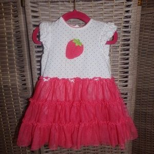 Little Me Strawberry Dress